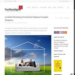 23 Adobe Photoshop Tutorials for Beginner Graphic Designers - DuoParadigms Public Relations & Design, Inc.