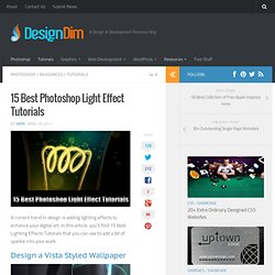 15 Best Photoshop Light Effect Tutorials | Design Dim - StumbleUpon