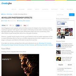 40 Killer Effects