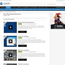 Tuto Photoshop Elements Gratuit : 48 tutoriels Photoshop Elements
