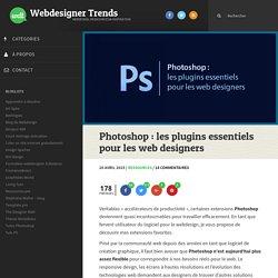 Photoshop : les plugins essentiels pour les web designers