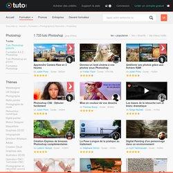PHOTOSHOP , 2223 tutoriels vidéo Photoshop sur TUTO