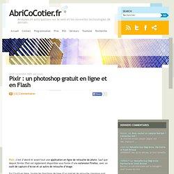 Pixlr : un photoshop gratuit en ligne et en Flash
