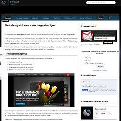 Photoshop gratuit sans le télécharger et en ligne