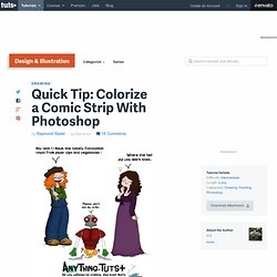 Colorize a Comic Strip With Photoshop
