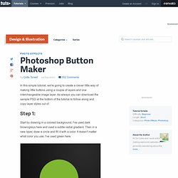 Photoshop Button Maker
