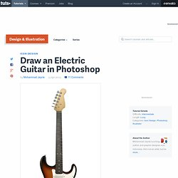 Draw an Electric Guitar in Photoshop