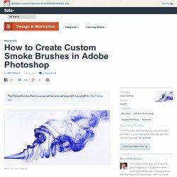 How to Create Custom Smoke Brushes in Adobe Photoshop