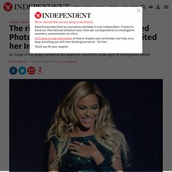 The rise of fashion magazine inspired Photoshop editing: Has Beyonce edited her Instagram images? - News - Fashion