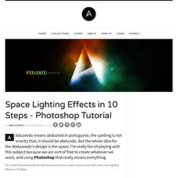 Space Lighting Effects in 10 Steps - Photoshop Tutorial