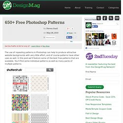 650+ Free Photoshop Patterns - Web Design Blog – DesignM.ag