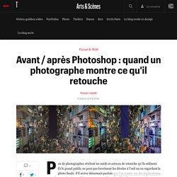 Avant / après Photoshop : quand un photographe montre ce qu'il retouche - Vu sur le net