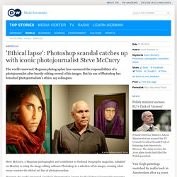 ′Ethical lapse′: Photoshop scandal catches up with iconic photojournalist Steve McCurry