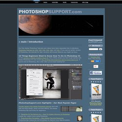 Photoshop Tutorials & Adobe Photoshop Plugins