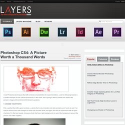 Photoshop CS4: A Picture Worth a Thousand Words « Layers Magazine