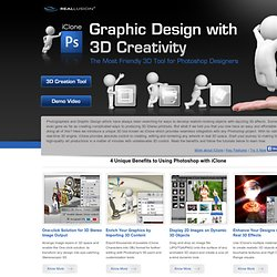 iClone & Photoshop Pipeline - Graphic Design with 3D Creativity