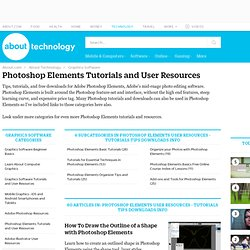 Photoshop Elements User Resources - tutorials tips downloads info