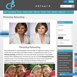 Photoshop Retouching Service