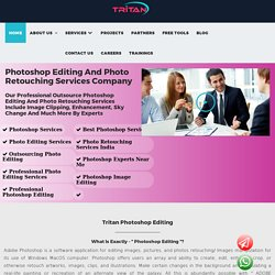 Photoshop Editing And Photo Retouching Services Company