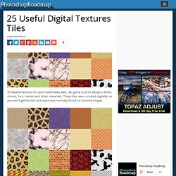 25 Useful Digital Textures Tiles