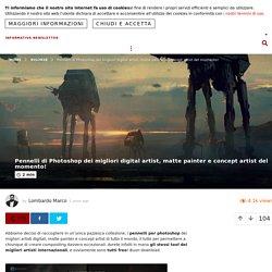 Pennelli di Photoshop dei migliori digital artist, matte painter e concept artist del momento! – ROBADAGRAFICI.NET