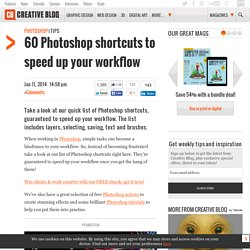 50 Photoshop shortcuts to speed up your workflow