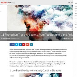 Photoshop Tips From Top Designers And Artists