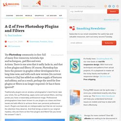 A-Z of Free Photoshop Plugins and Filters - Smashing Magazine
