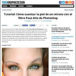 Tutorial: Cómo suavizar la piel de un retrato con el filtro Paso Alto de Photoshop