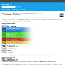 Photoshop's Toolbox