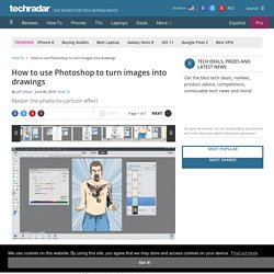 Photo to cartoon effect: how to use Photoshop to turn images into drawings