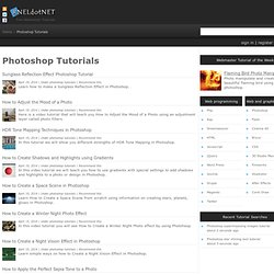 Photoshop Tutorials - RNELdotNET