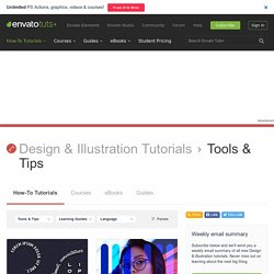 Photoshop Tools & Tips Tutorials and Articles