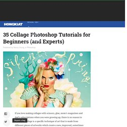 35 Collage Photoshop Tutorials for Beginners (and Experts)