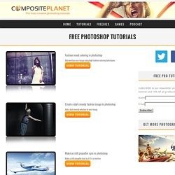 Free Photoshop Tutorials » The most creative photoshop tutorials
