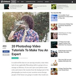 20 Photoshop Video Tutorials To Make You An Expert