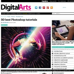 50 best Photoshop tutorials - Features