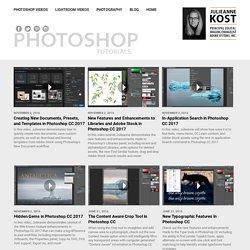 Adobe Photoshop tutorials by Julieanne Kost
