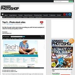 Top 5…Photo stock sites