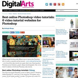 Best online Photoshop video tutorials: 6 video tutorial websites for Photoshop