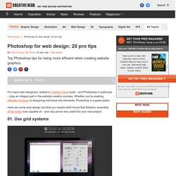 Photoshop web design: 10 tips to make you more efficient