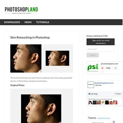 Photo Retouching | Skin Retouching in Photoshop - StumbleUpon
