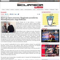 Start-up etnee crescono. Raggiunto accordo tra PhotoSpotLand e Argo Software - Siciliamediaweb