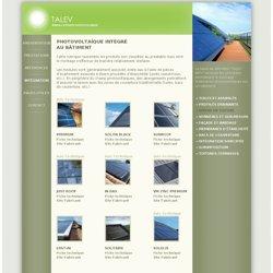 Photovoltaïque intégré au bâtiment