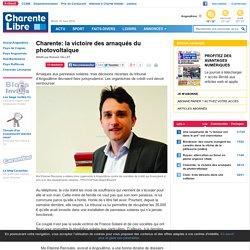 Charente: la victoire des arnaqués du photovoltaïque