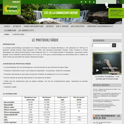 Site de la Commission Energie