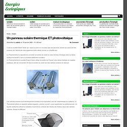 Blog Panneau solaire et éolienne