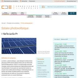 Énergie solaire photovoltaïque : fonctionnement, enjeux et chiffres clés