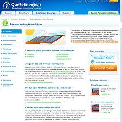 Panneau solaire photovoltaique : Fonctionnement, Installation, Prix, Rentabilité, Puissance